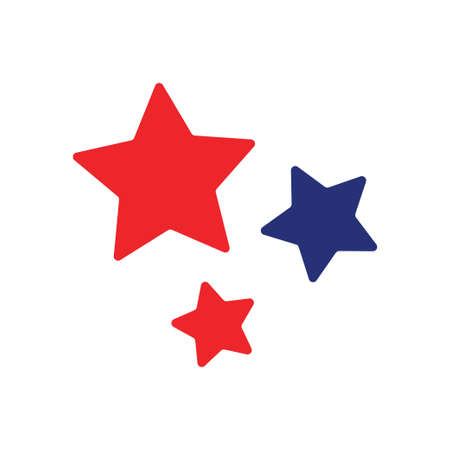 Stars icon design template vector isolated illustration Vectores