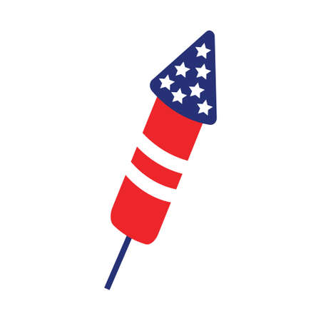 Firecracker icon design template vector isolated illustration