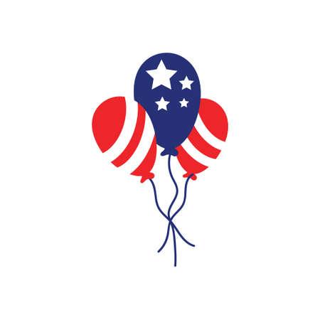 Balloon icon design template vector isolated illustration