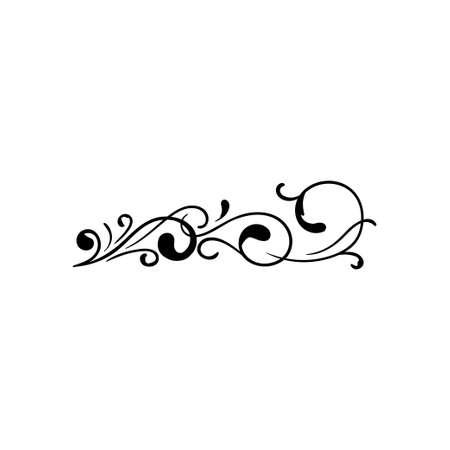 Decorative art icon design template vector illustration