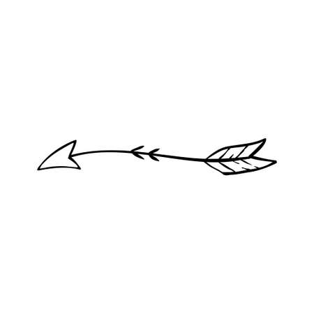 Tribal arrow icon design template vector isolated illustration 矢量图像