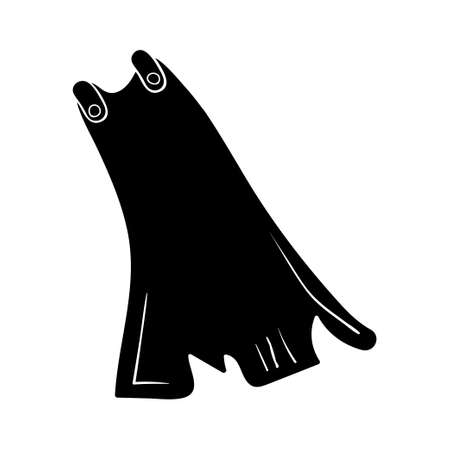 Cape icon design template vector isolated illustration