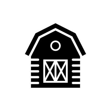 Barn icon design template vector isolated Иллюстрация