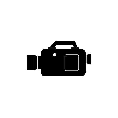 Camcorder icon design template illustration isolated