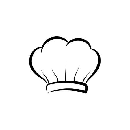 Chef hat icon design template illustration isolated