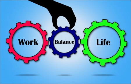 Work Life Balance Concept Stock Photo - 17467260