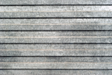 background, texture: surface area of corrugated galvanized sheet metal