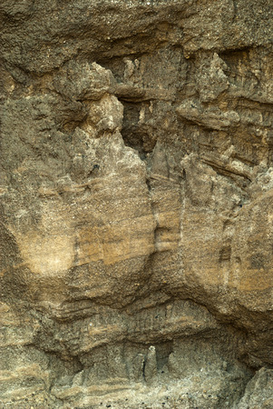 background, texture - weathered rock wall or cave wall