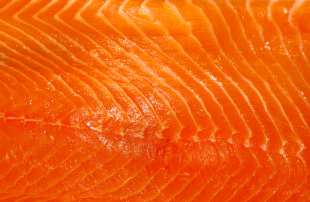 background, texture - fresh orange salmon fillet