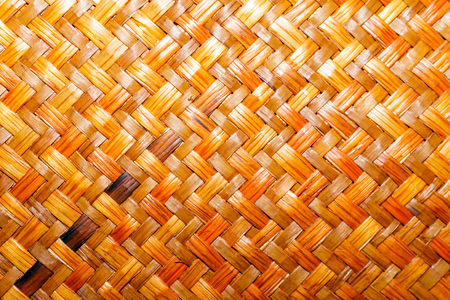 background, texture - the surface of a woven straw mat