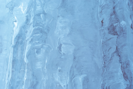 blurred relief blue natural ice background