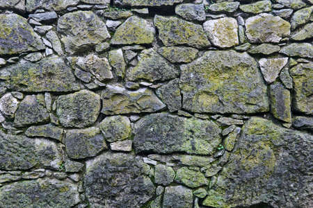 background, texture - ancient masonry at the basement of medieval fortress