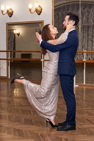 adult couple training dance sensual classical dance