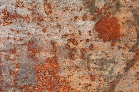 background, texture - rusty surface of an iron sheet