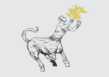 centaur: The classic centaur in a freakshow version.
