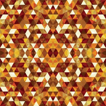shrill: Triangular Mosaic Colorful Background. Abstract Vector Illustration.? Illustration
