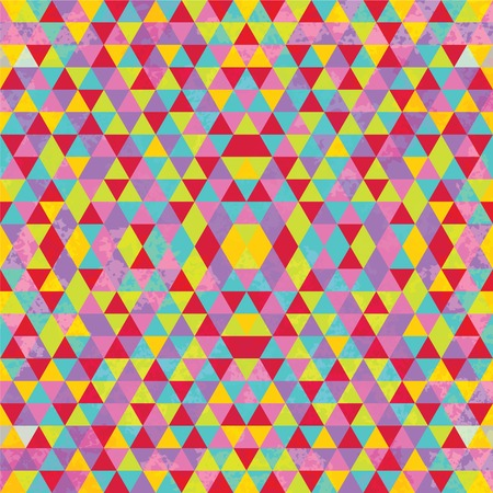 Triangular Mosaic Colorful Background. Abstract Vector Illustration.ΠIllustration
