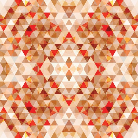 shrill: Triangular Mosaic Colorful Background. Abstract Vector Illustration.ΠIllustration