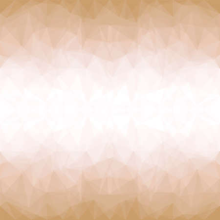 Golden Mosaic Background. Abstract Vector Illustration.? Vector