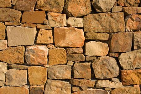 Stone wall background Stock Photo