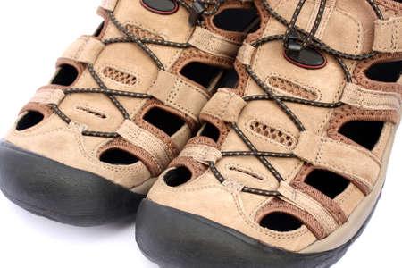 mens sports sandals closeup Stock Photo - 4879467