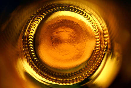 abstract beer bottle photo