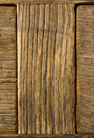 Old grainy weathered wood background