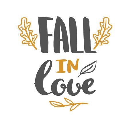 愛のポスターの文字に落ちる。