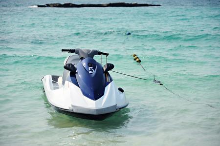 jet ski: Jet Ski in the Sea (Thailand, Pattaya)