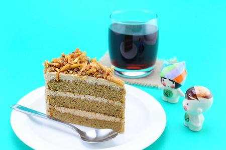 cafe y pastel: