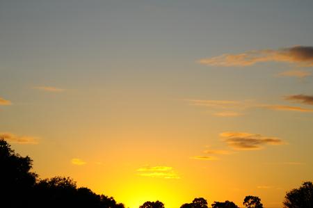 Sunset Sky Standard-Bild
