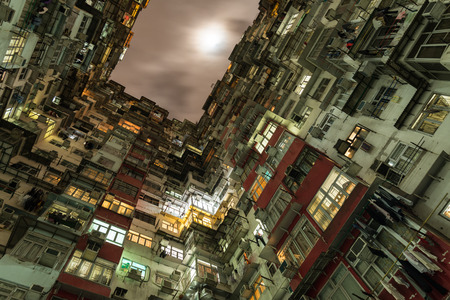 Hong Kong is the city where there is huge skycraper, but there is place where people live stuck