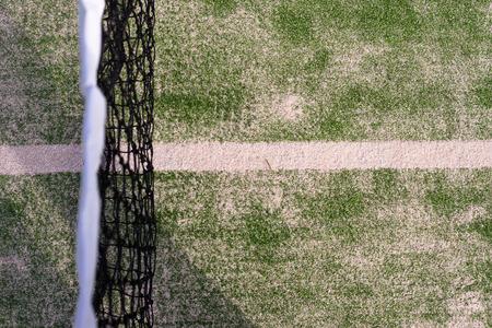 wimbledon: Tennis court Flag symbol Stock Photo