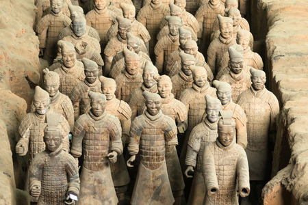 Armée de Terracotta Warriors Éditoriale