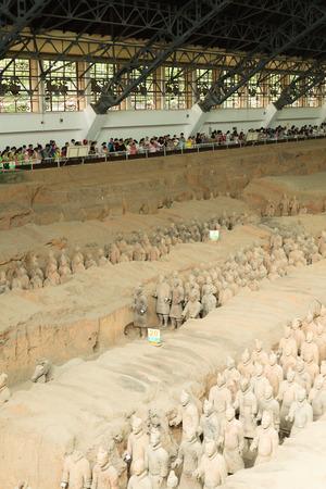 terracotta: Terracotta Army Museum Editorial