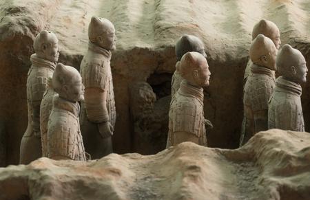 qin: Figures of Terracotta Warriors