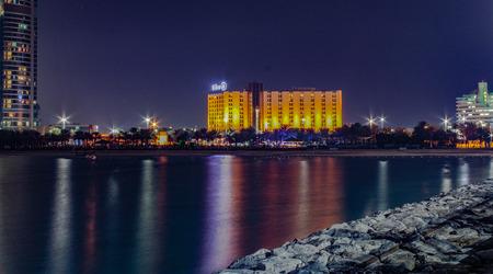 dhabi: Abu Dhabi Seaside Editorial