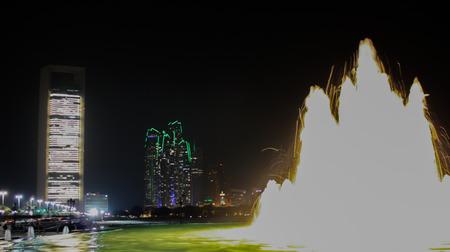 dhabi: Light Fountain Abu Dhabi