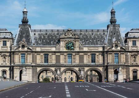 louver: Louvre museum  Editorial