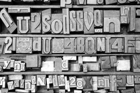 Printing block letters and numbers