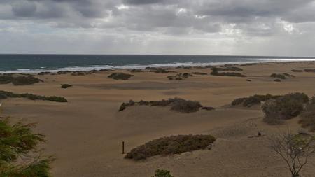 Dunas de Maspalomas - Gran Canaria at stormDunas de Maspalomas - Gran Canaria at storm