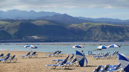 La cantera - beach in Las Palmas - Gran Canaria Stock Photo