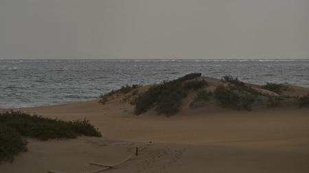 Dunas de Maspalomas - Gran Canaria at storm