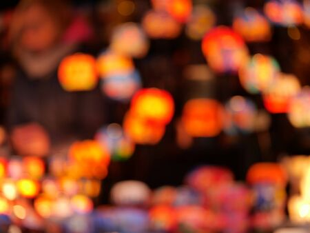 Colored Bokeh with beautiful blur as a background. Stock fotó