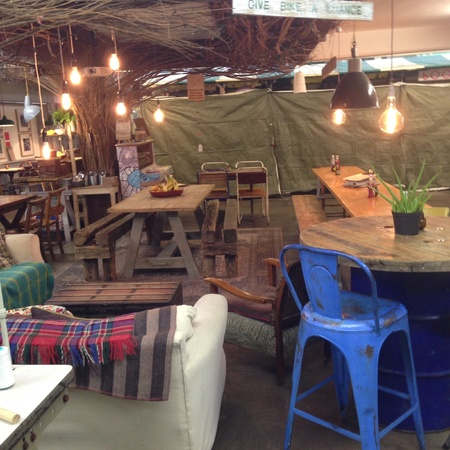 interior: A small cafe in Shrewsbury