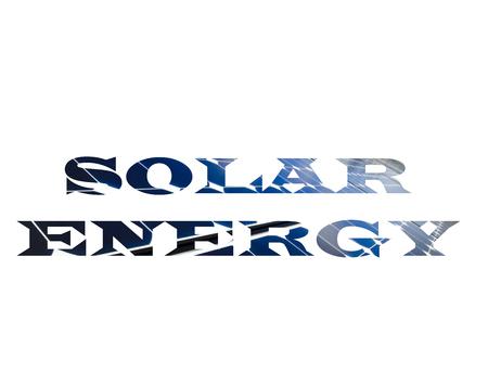 SOLAR ENERGY Stockfoto