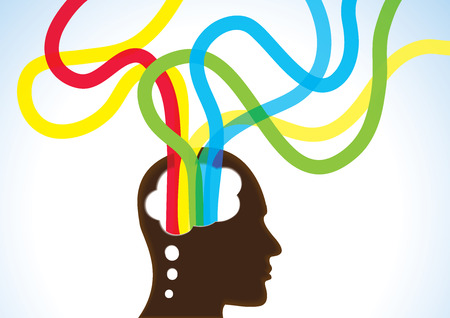思考の頭に-創造性、インスピレーションと夢