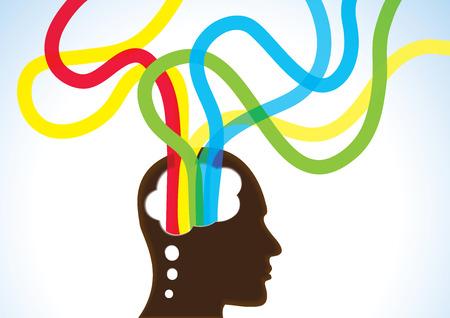Thinking Head - Creativity, Brainstorm and Dreams