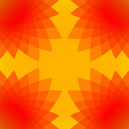 Colourful Sunny kaleidoscopic Abstract Background 스톡 콘텐츠