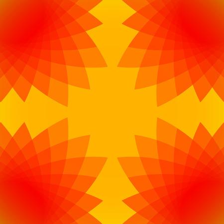 kaleidoscopic: Colourful Sunny kaleidoscopic Abstract Background Stock Photo